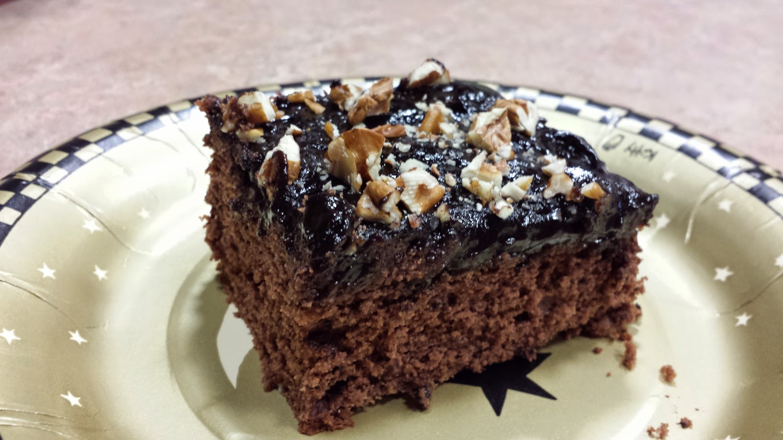 My Patchwork Quilt: SELF-FROSTING MEXICAN CHOCOLATE CAKE