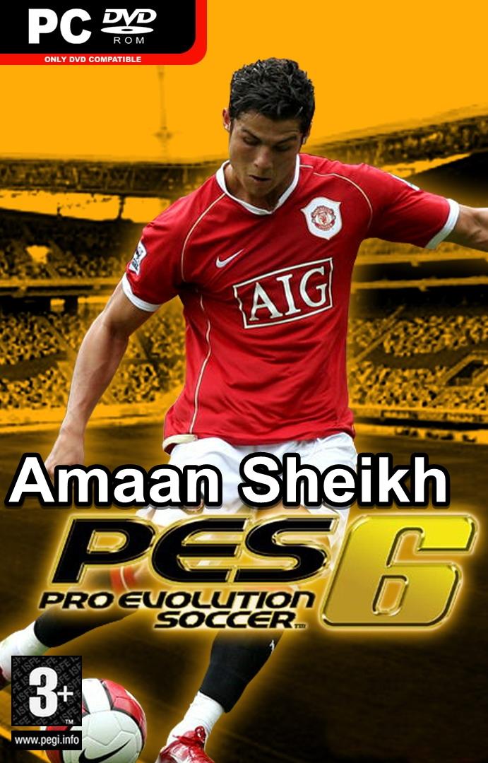 PES 6 Pro Evolution Soccer 6 Free Download