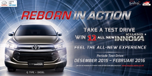 Datang dan Test Drive Toyota All New Kijang Innova 2016