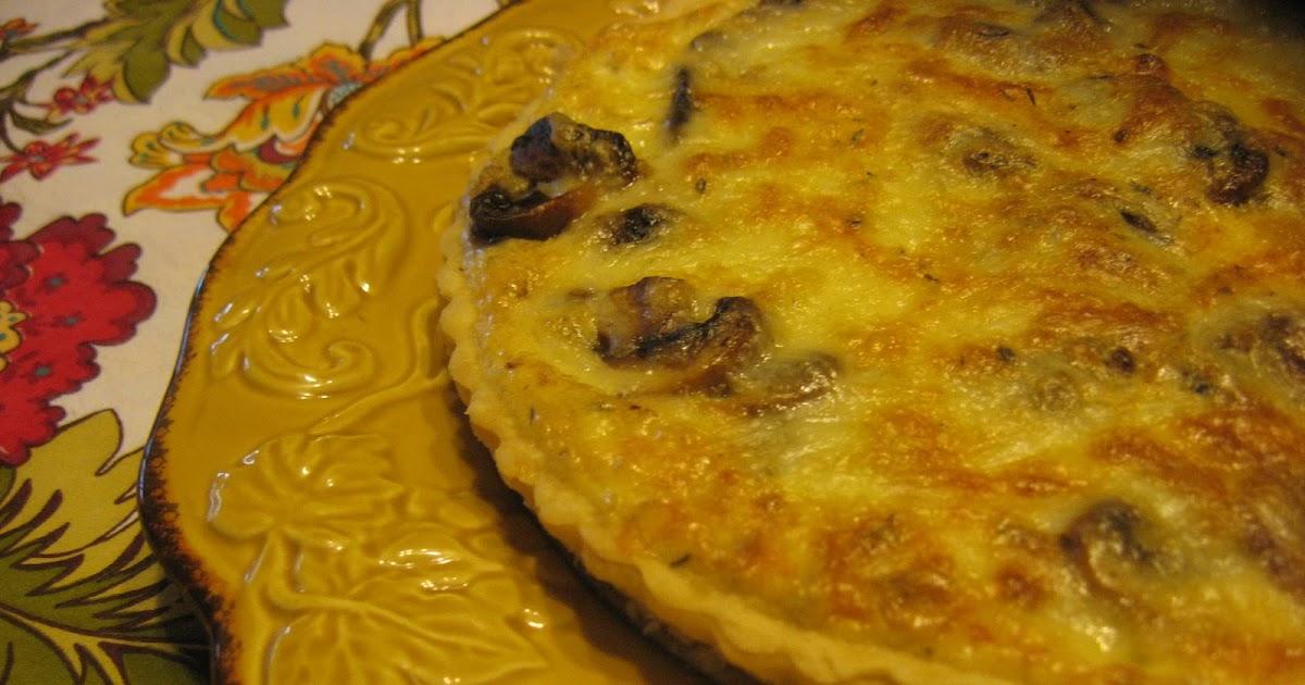 Baker Becky: Mushroom and Caramelized Onion Tart