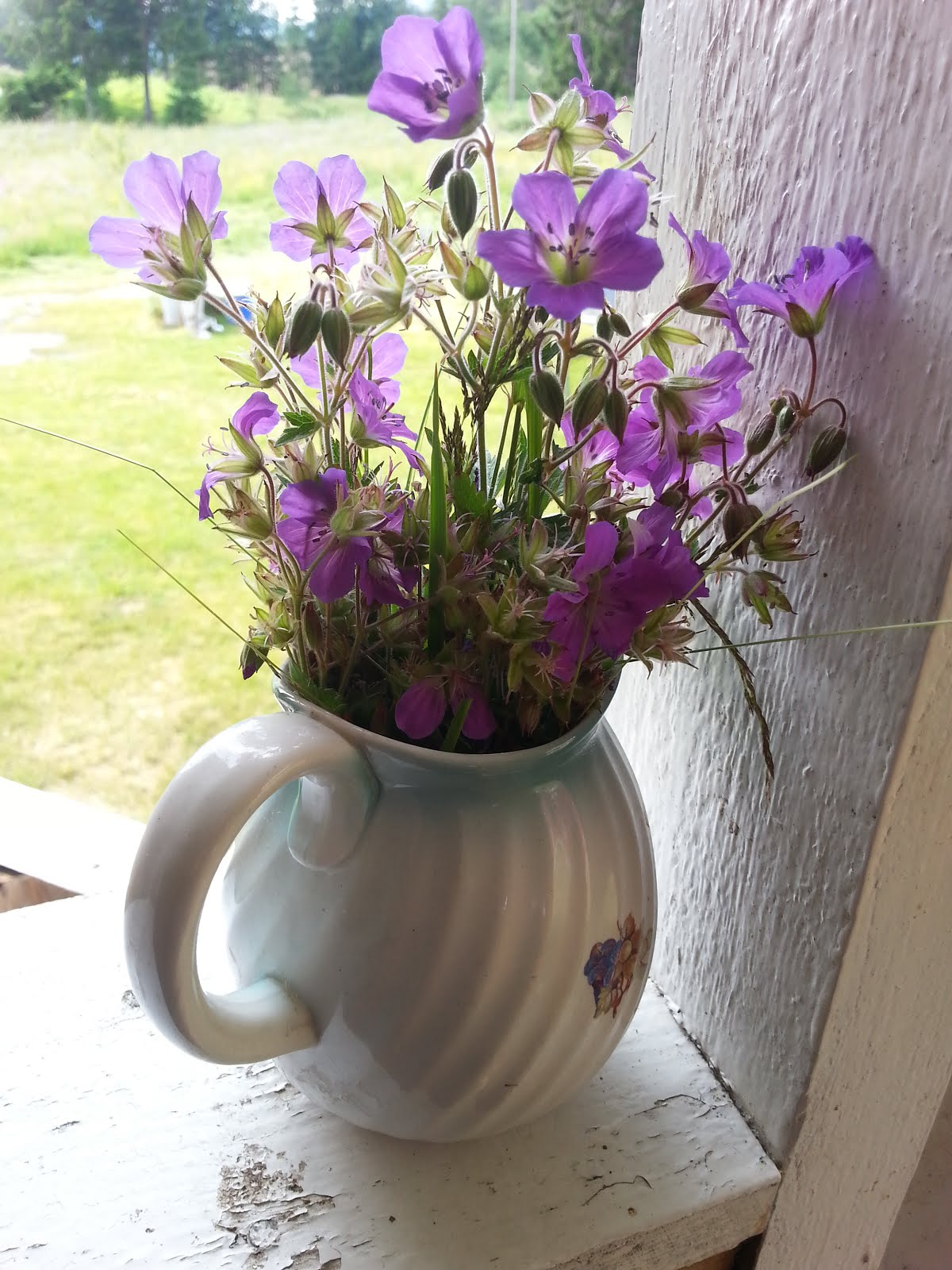 Blomster fra barnehånd
