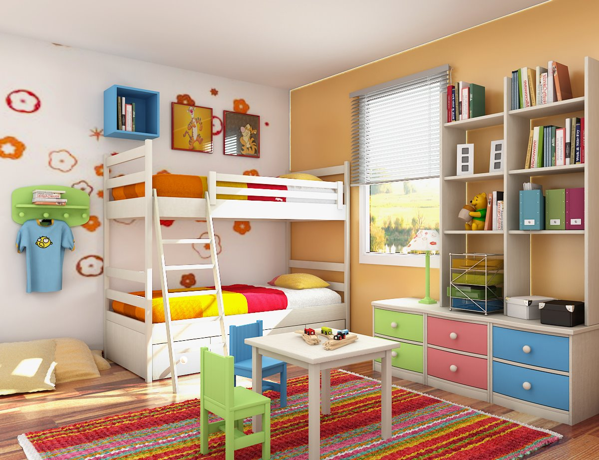 Gambar desain kamar anak anak 03