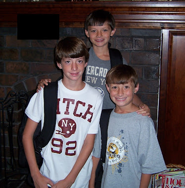 Tristan, Trey & Trevor