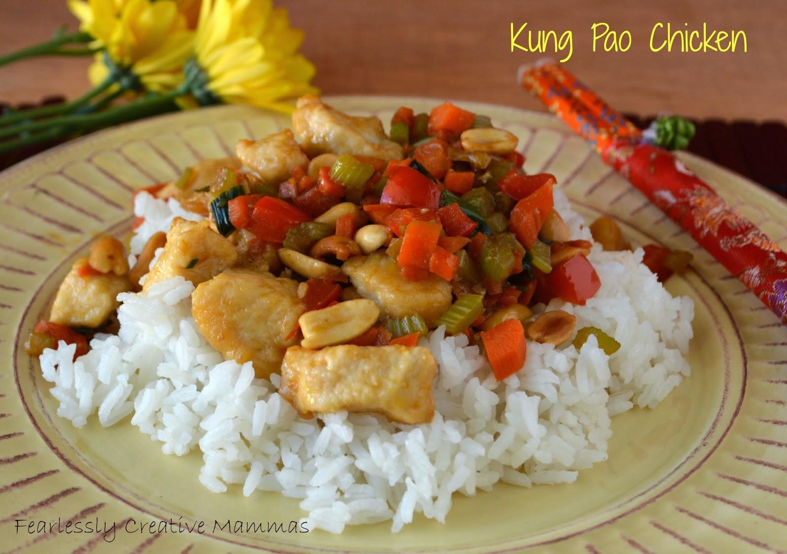 Kung Pao Chicken #FoodieExtravaganza