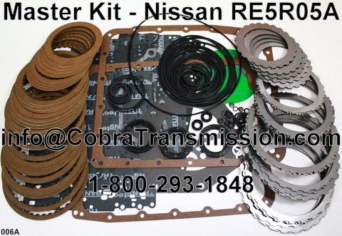 How To Rebuild Automatic Transmission >> Cobra Transmission Parts 1-800-293-1848: RE5R05A Transmission Parts
