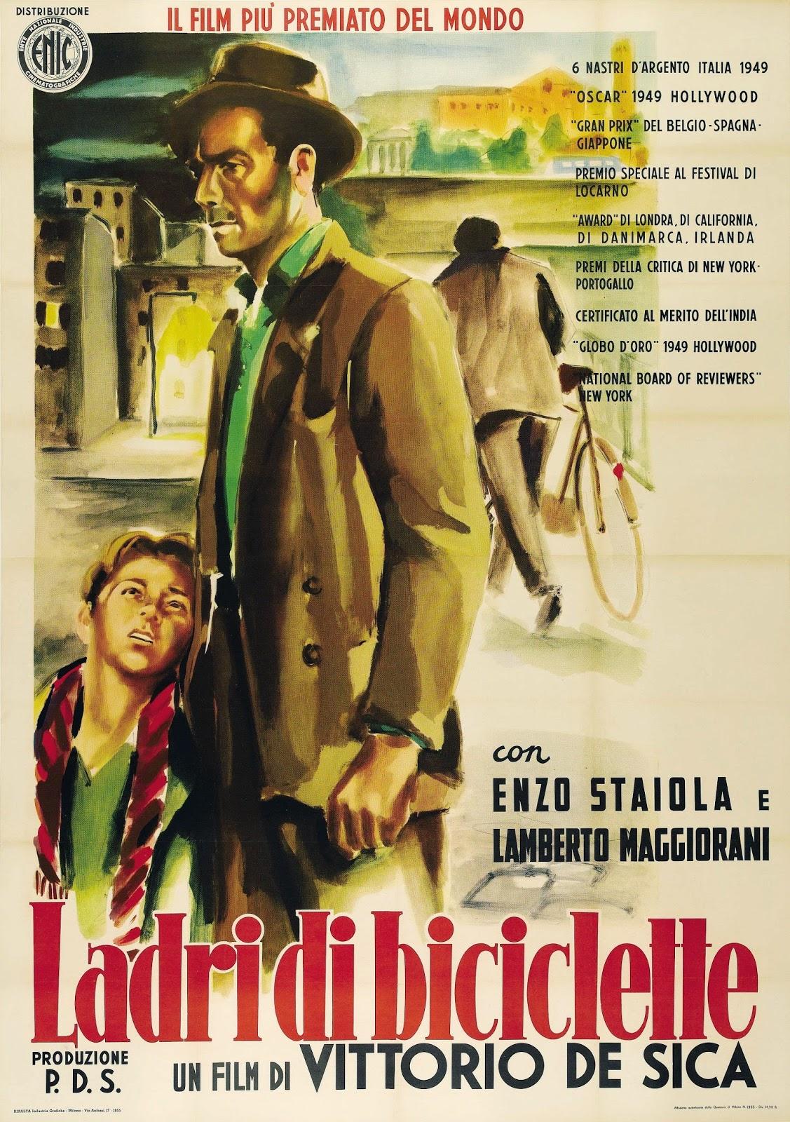 Ver Película : Ladrón de bicicletas, 1948 - Vittorio de Sica