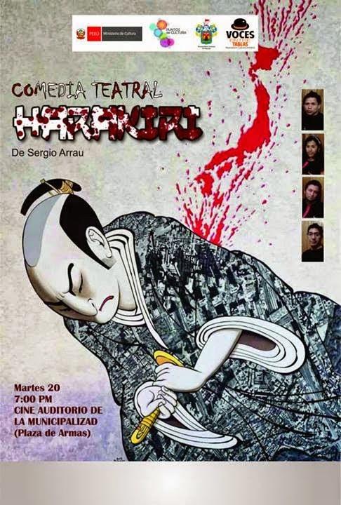 Comedia Teatral Harakiri - 20 de Mayo [Teatro]