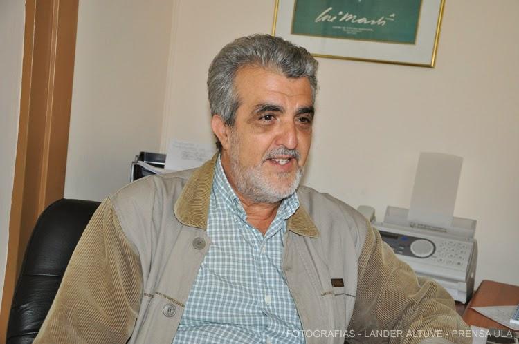 Profesor Miguel Ángel Rodríguez Lorenzo, fue designado por los miembros del Consejo de Facultad de Humanidades y Educación como el coordinador de la Maestría en Historia de Venezuela, en sustitución de Ismael Cejas  (Fotografía: L. Altuve)