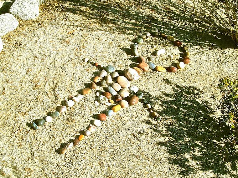 Garden Rock Art
