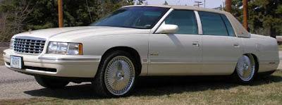 Cadillac Deville Lowrider Car