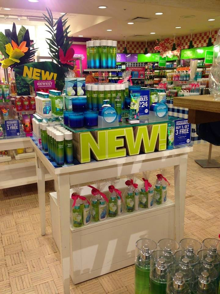 While in there  I saw shoppers taking advantage of todays buy 3 get 3 sale  and grabbing the new Tahiti. Life   Inside the Page  Bath   Body Works   Tahiti Island Dream