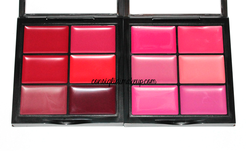 swatches palette rossetti wjcon collezione make upartist