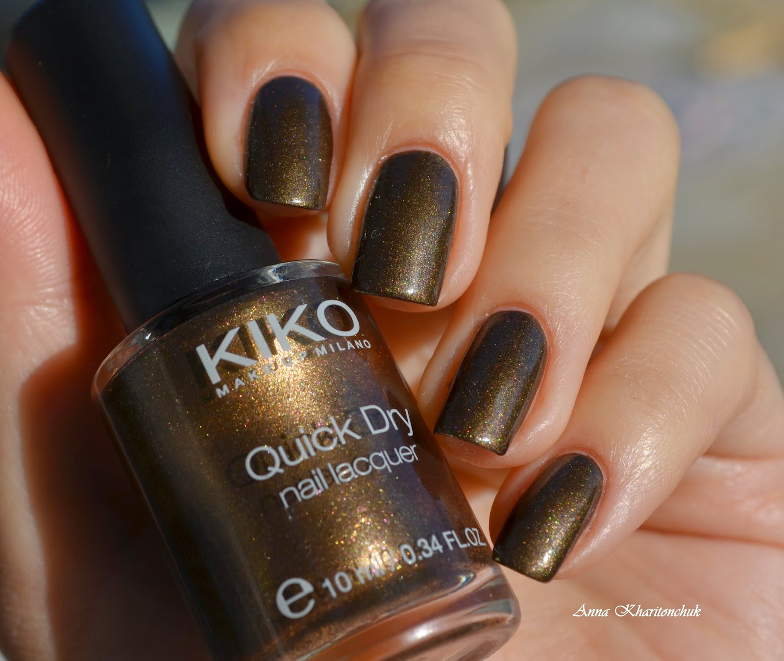 Kiko 813 Pearly Brown