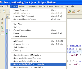 how to call equals method in java