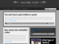 distinction wordpress theme