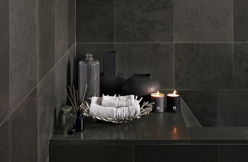 The paper mulberry kelly hoppen new online shop for Charcoal bathroom accessories