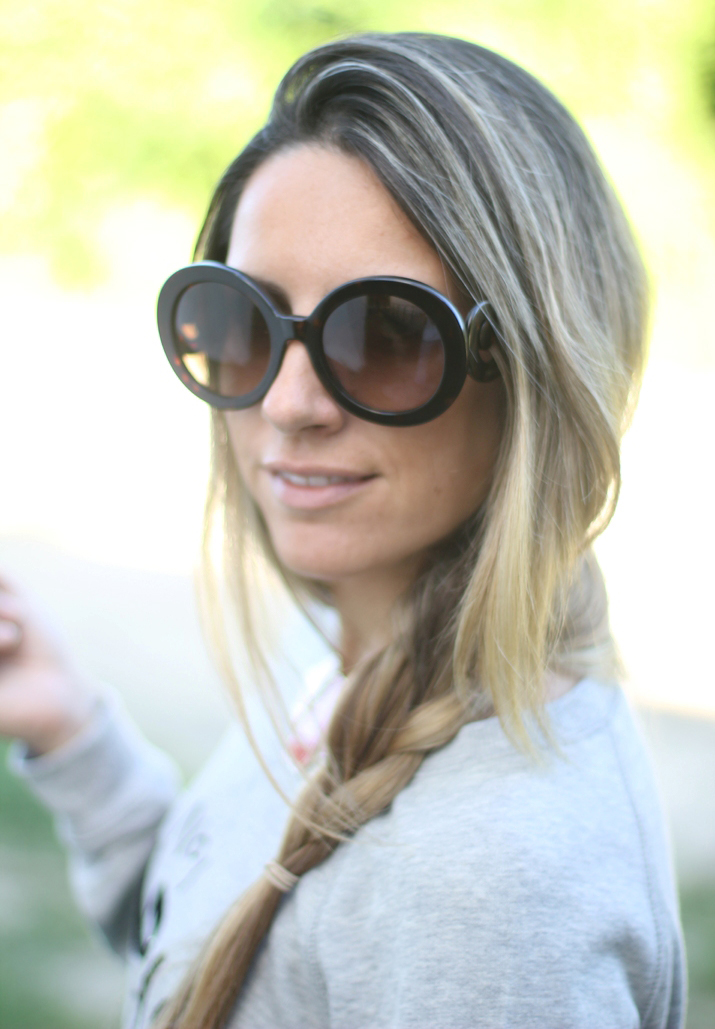 Prada Baroque sunglasses by blogger Mónica Sors