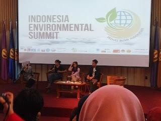 Indonesia Environmental Summit 2015 Di Universitas Padjajaran Jatinangor : Salam Lestari, salam kehidupan