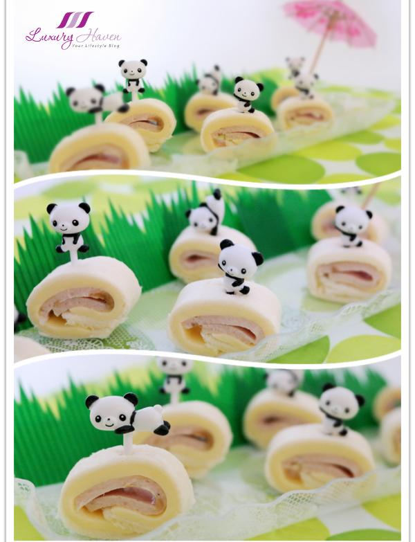 kraft cheddar cheese panda pinwheels for kids