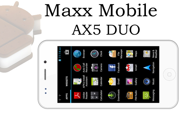 Maxx mobile ax5 duo