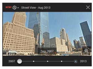 immagini del passato su Google Streetview