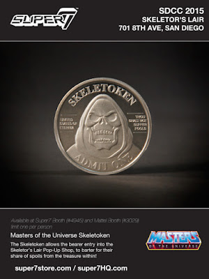 Skeletor Takes Over Super7 San Diego During San Diego Comic-Con 2015 - Super7 x Mattel MOTU Exclusives!