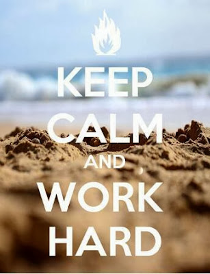 keep calm and work hard