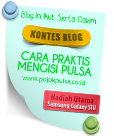 Lomba Blog Pojok Pulsa 2013