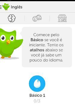 DuoLingo aprender inglês no Android
