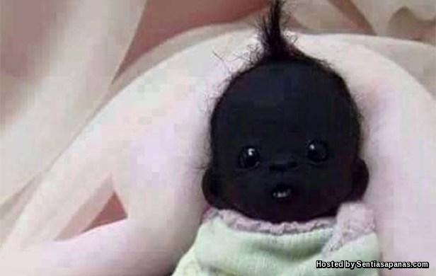 Bayi Comel Paling Hitam