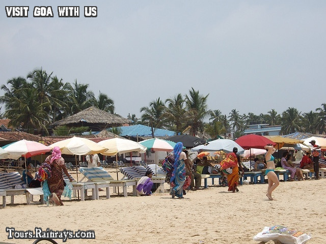 Tourist Place Baga Beach Goa India. Get Hot deal in cheap budget, Travel and tour packege by more then one operator