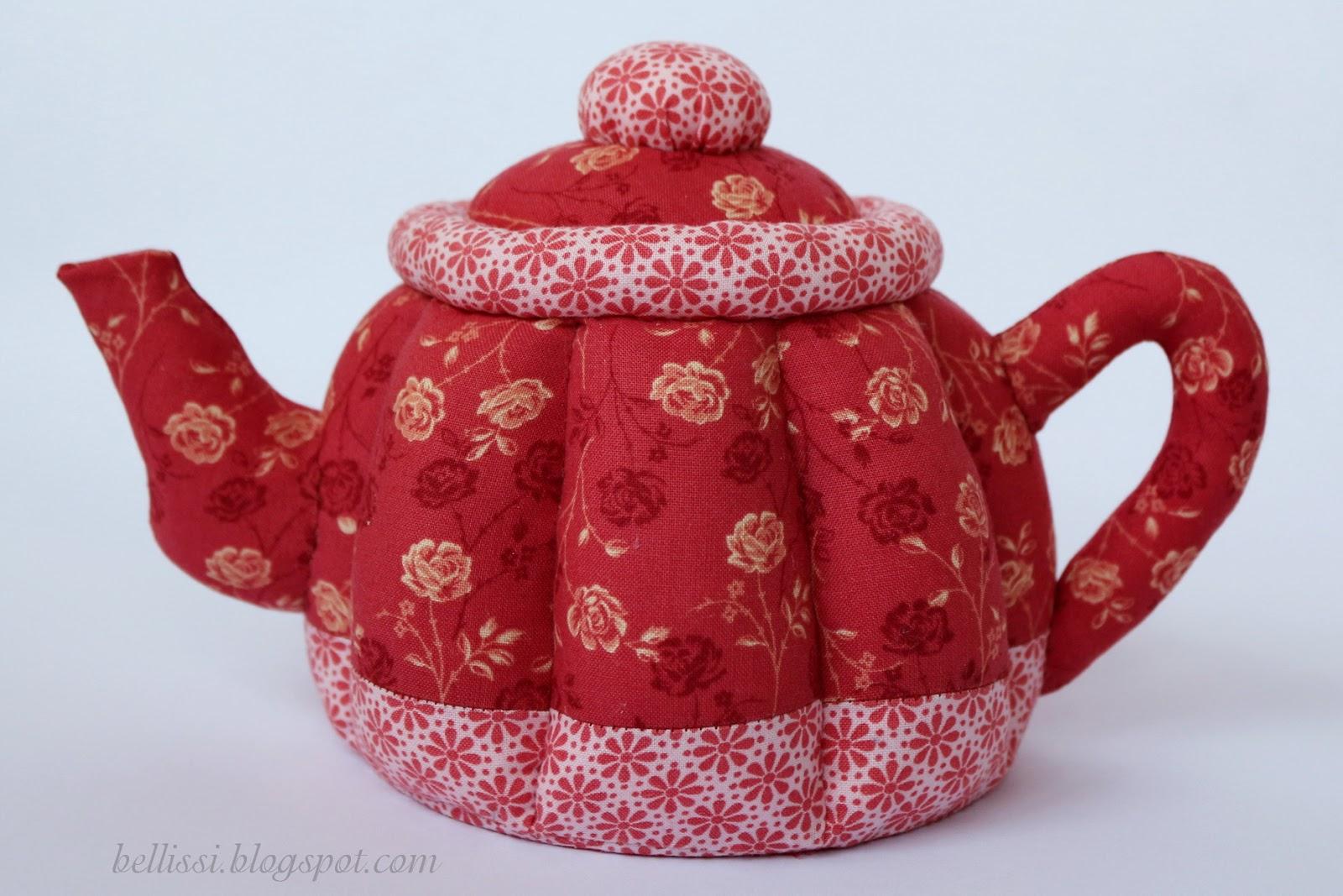 Как сшить грелку для чайника в стиле тильда 8