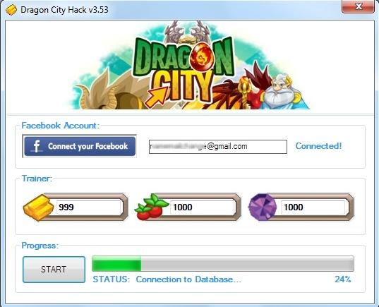 Hack WiFi Dragon city