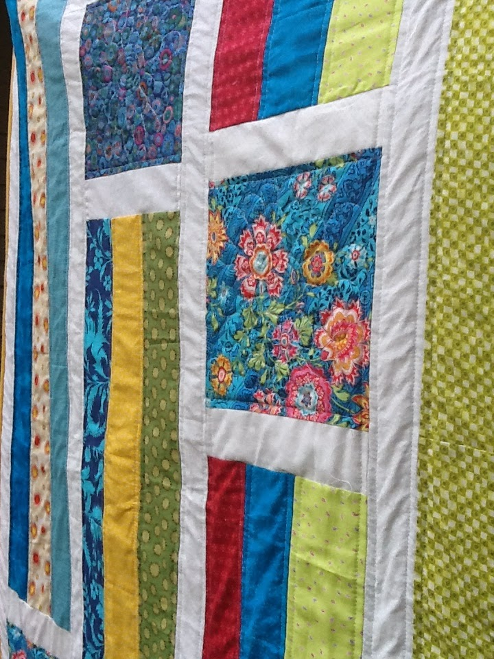 how to put the edge on my quilt