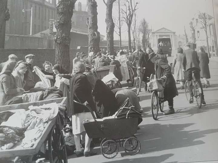 The Flea Market in Unicorn Road