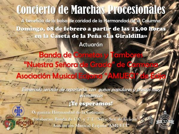 Oficina de turismo de carmona concierto de marchas for Oficina turismo carmona