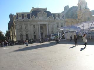 Correos Central, Santiago de Chile, Chile, vuelta al mundo, round the world, La vuelta al mundo de Asun y Ricardo
