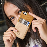 เคส-iPhone-6-รุ่น-เคส-iPhone-6-หนัง-PU-ลายไม้เหมือนจริงที่สุด-ด้านหลังมีช่องเสียบบัตร-สินค้านำเข้า-ของแท้