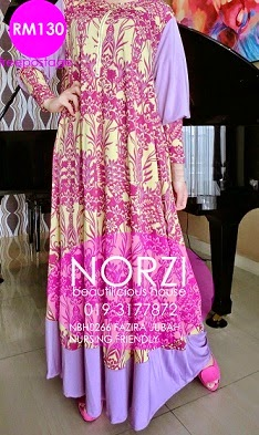 NBH0238 FAZIRA JUBAH (MATERNITY & NURSING FRIENDLY)