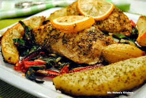 Citrus Herb Chicken with Roasted Vegetables