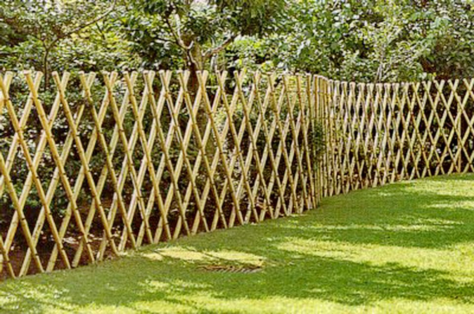 Jardins maravilhosos cercas de bambu - Cercas de jardin ...