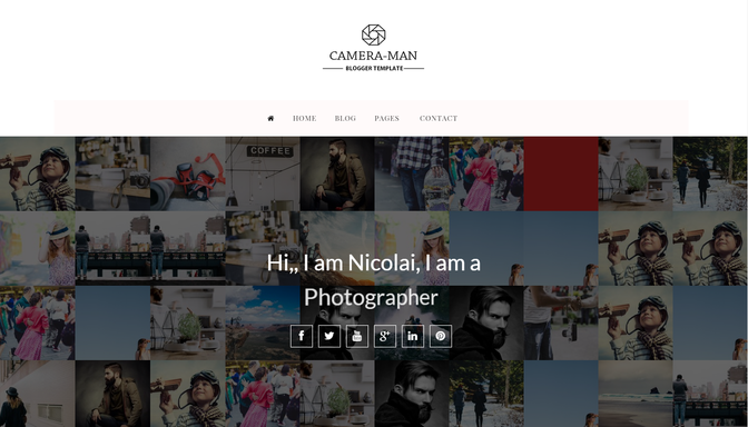 Camera_Man Blogger Template