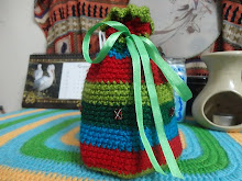 Crochet Drawstring bag Pattern Download