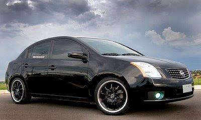 Envelopados e Tunados: Nissan Sentra Tunado