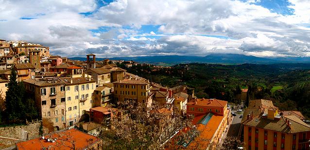 Le terrazze più belle di Perugia