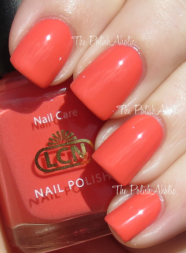 The Polishaholic Lcn Spring 2013 Blossom Sorbet Collection Swatches