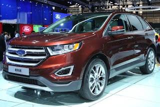 2016 Ford Edge Titanium Release Date
