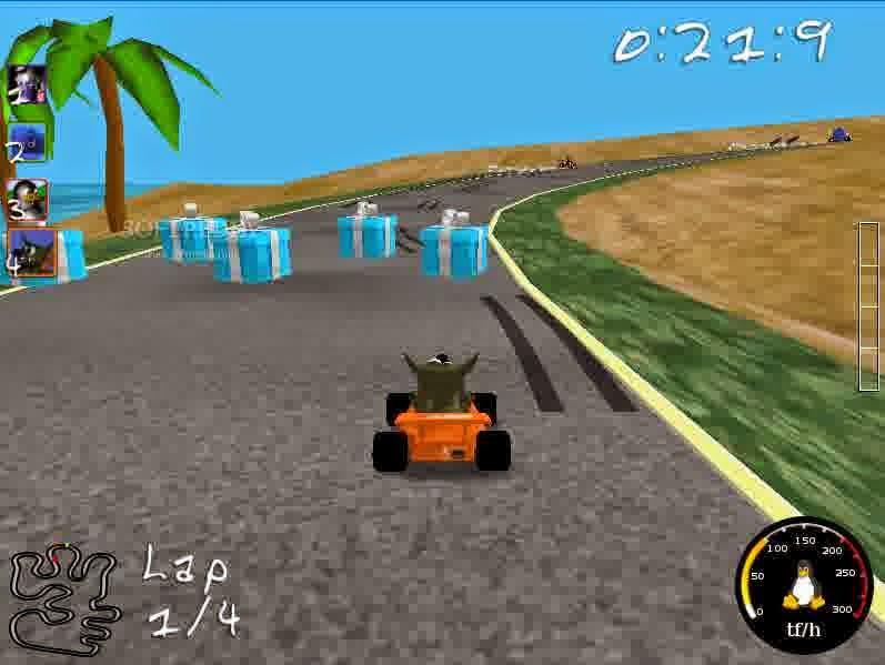 Game Super Tux Kart