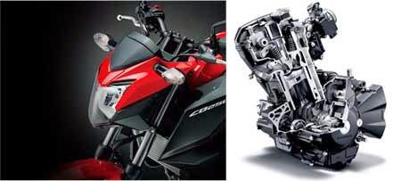 Headlamp Honda CB250F