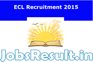 ECL Recruitment 2015
